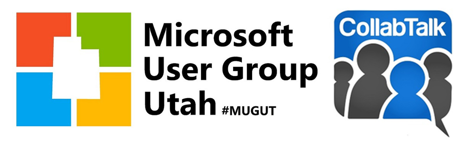 Microsoft User Group Utah with CollabTalk banner