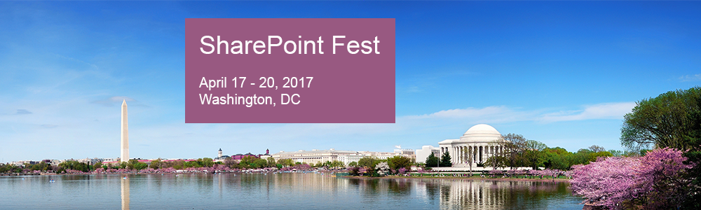 SharePoint Fest Washington 2017
